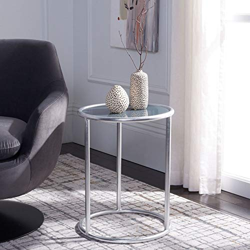 Safavieh Shay End Table Finish: Silver/Grey