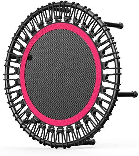 Trampolín de fitness para adultos Mini trampolín silencioso y estable rebote adecuado para niños adultos deportes trampolín interior y exterior deportes carga máxima 500 kg