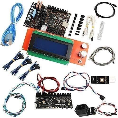 KASILU Dlb0213 3D Printer Accessories Prusa I3 Mk3 Motherboard + Display + Mmu2 Control Board + Cut Detection Kit Computer high-performance