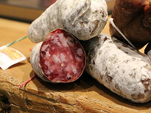 4x Salchichónes de Saboya - 1 Cerdo Puro, 1 Ahumado, 1 Avellana y 1 Queso Beaufort - Saucisson Gourmet de los Alpes Franceses - Salchichón de Salami Premium - 4x 170g