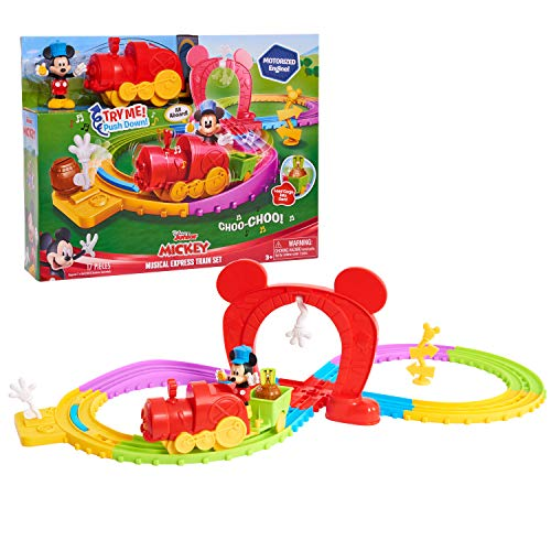 Mickey Mouse Disney's Mickey's Musical Express Train Set