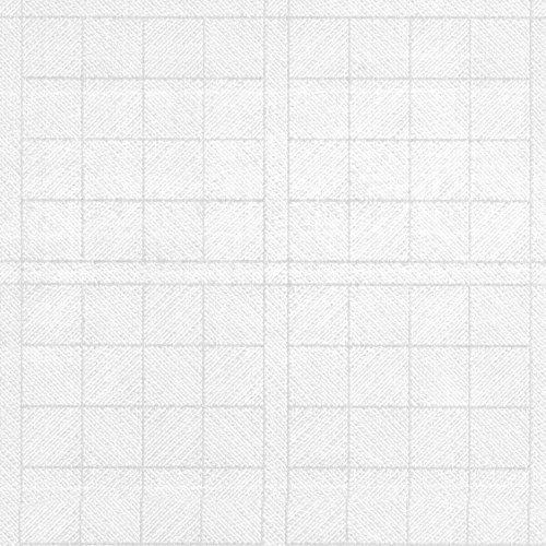 Nappe toile cirée PVC Rectangulaire 140 x 240 cm Blanc