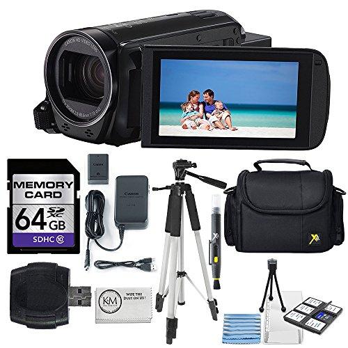 Canon 16GB VIXIA HF R70 Full HD Camcorder + 64GB SDHC Memory + Premium Accessory Bundle