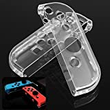 Joy-Con Hard Crystal Clear Play-in Shell Set for Left and Right Joy-Con Protector Cover Case Sleeve For Nintendo Switch