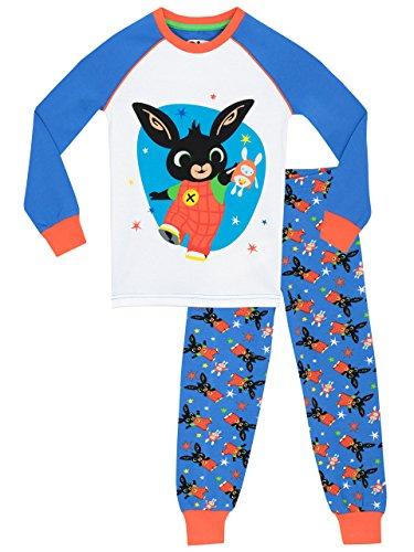 Bing - Pigiama a Vestibilitta Stretta per Bambino (3-4 anni, Multicolore)