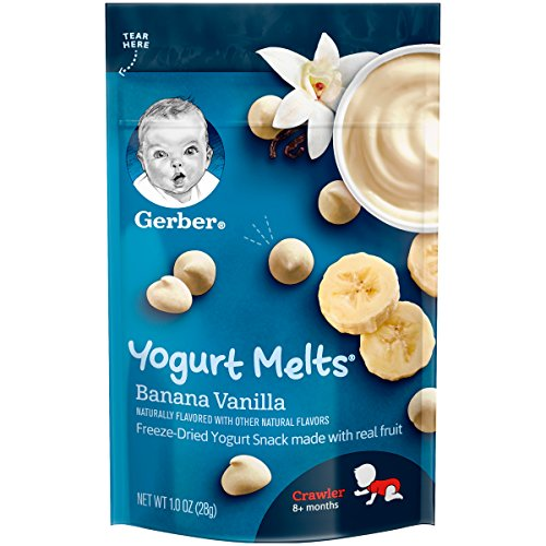 Gerber Yogurt Melts, Banana Vanilla, 1 Ounce (Pack of 7)