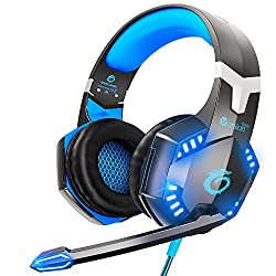 cheap VersionTECH.  G2000 Pro Gaming Headset, PS4, Xbox One, Wired 3D Surround Headphones, HD …