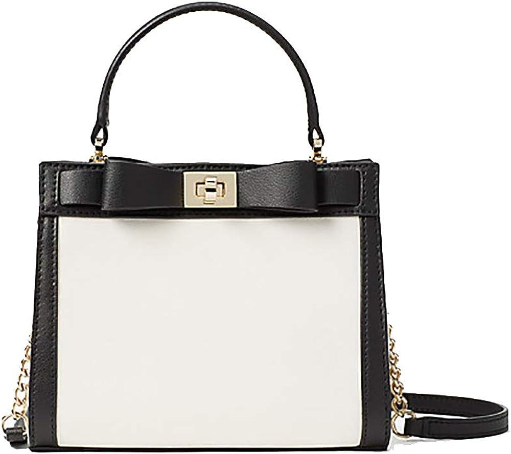 Kate Spade Mayfair Drive Mini Tullie Handbag (Cement/Black)