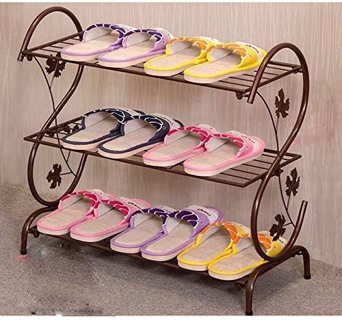 aipipl Estante de Almacenamiento de Zapatos Fuerte y Duradero Altura Ajustable Organizador de Muebles apilable Soporte de Almacenamiento para el Pasillo de Entrada Estante de Zapatos de Ahorro de e