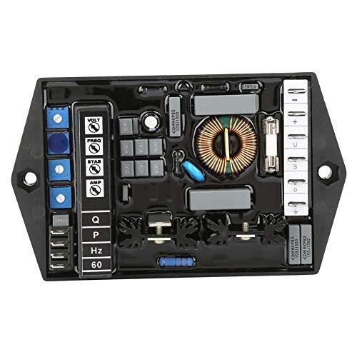 M16fa655a Automatische spanningsregelaar, M16FA655A DC 30V Automatische spanningsregelaar Elektrische stabilisator Generatoraccessoires Transformator Modulebord met USB-poort Beschermhoes