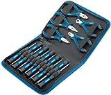 Draper 48958 - Juego de destornilladores y alicates de precisión (16 piezas)