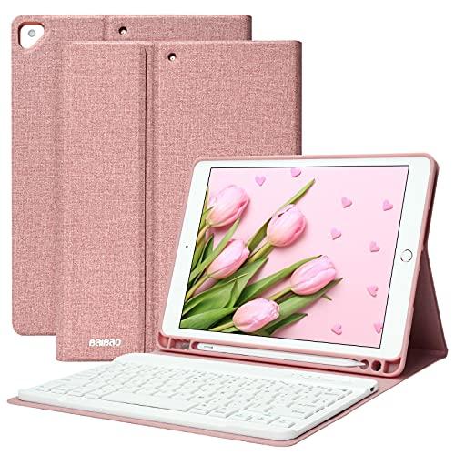 Teclado para iPad 10.2 9th 2021/8th 2020/7th 2019, Funda Teclado para iPad...