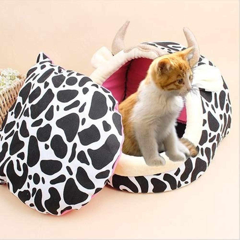 Cartoon Cute Nest Detachable Supplies Pet Supplies Pet Shape