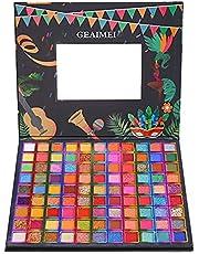 Oogschaduw Palet 99 Kleuren Make-up Palette Set Langdurige Poeder Oogschaduw Glitter Professionele Oogschaduw Poeder Natuurlijk Oogschaduw Palet Glitter Shimmer Voor Verleidelijke Ogen