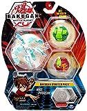 Bakugan Starter Pack, 2 clásicos y 1 Ultra - Haos Pyravian