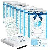 Bustine Corredino Neonato Ospedale - 8 Sacchetti Cambio Neonati - Kit Accessori Buste - Lista Nascita Bebè