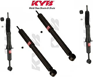 Front + Rear Leveling fits JEEP Commander 2006-08 GR-2//EXCEL-G Twin Tube Gas Charged for Replacement KYB Quick Mount Kit of 4 Struts/&Shocks Touring /& 4x4 Offroad Performance