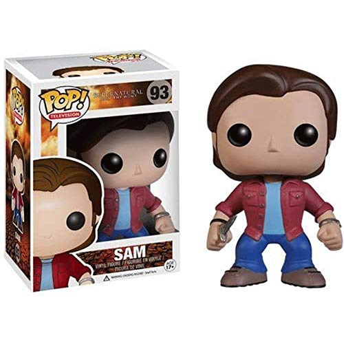 Funko Pop Television : Supernatural - Sam Collectible Action Figure Multicolor #93 for Boy