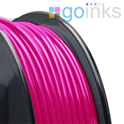 Go Inks 500g (0.5kg) Pink 1.75mm ABS 3D Printer Filament Spool