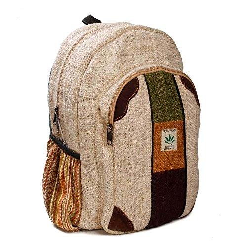 Rucksack aus Hanf, cultbagz Nepal Hand Made, Rolpa