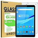 GOZOPO Protector de pantalla para Lenovo Tab M8 HD/Smart Tab M8/Tab M8 FHD, [resistente a los arañazos] Película de vidrio templado para Tab M8 HD [2 unidades)
