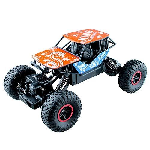 BHJH7 Vehículo de Roca controlado por Radio de 2,4 GHz Coche RC Todo Terreno Buggy Recargable de camión eléctrico de Alta Velocidad Regalo de año Nuevo de Grado Aficionado para niños y Grils