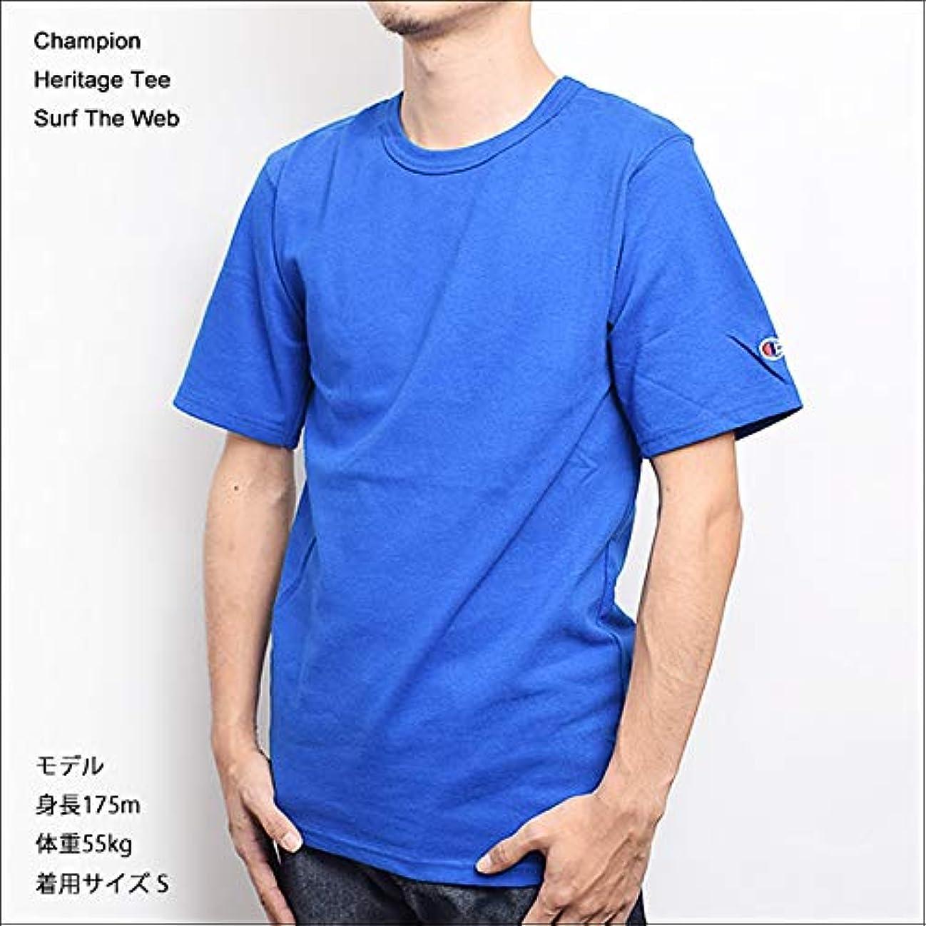 封建のみ満足できる[チャンピオン] (T1919) HERITAGE TEE メンズ/Tシャツ/半袖/ロゴ [並行輸入品]