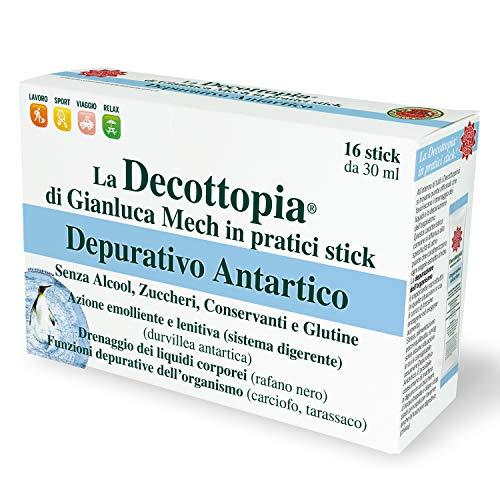 Scopri offerta per Gianluca Mech - Depurativo Antartico, Diuretico Secondo il Metodo Decottopia in Formato Decopocket - 16 Stick da 30 ml