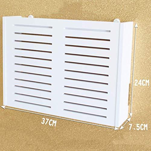 Regalständer Router/Wand Wand hängen/Multimedia-Box Okklusion/dekorative Aufbewahrungsbox router verstecken RVTYR (Color : A)