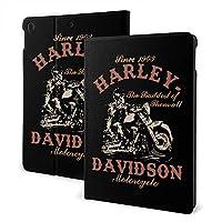 "Ipad Air3 10.5"" Harley-Davidson ハーレーダビッドソン iPad 10.2/10.5 ケース 薄型 軽量 傷防止 二つ折りスタンド スマートケース Apple iPad オートウェイクアップ/スリープ機能"