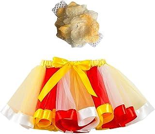 038c957781079 Tutu Jupe Fille Ballet Jupe Plissée Crayon Danse Princesse Bébé Fille DAY8  Vetement Enfant Fille Pas
