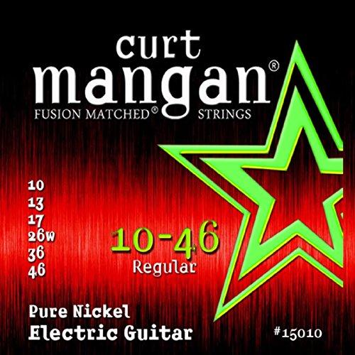Curt Mangan 10-46 Pure Nickel Wound Set Electric Guitar Strings