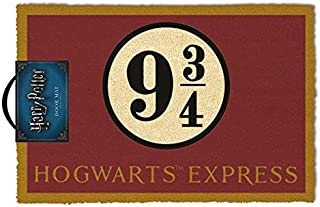 Harry Potter Felpudo Hogwarts Express, Fibra de Coco, Multicolor, 40 x 60 cm