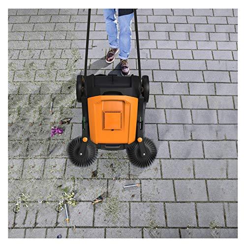 HJGHY Kehrmaschine(Handkehrmaschine für Gewerblichen Bereich, Trocken Oder Grober Schmutz, Kehrbreite 500 mm Faltbar)