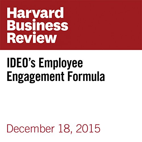 IDEO's Employee Engagement Formula cover art