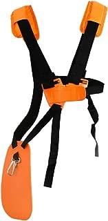 SunMon Trimmer Shoulder Strap - Mower Trimmer Harness Strap Double Shoulder with Durable Nylon Belt Adjuestable for Brush Cutter or Gardenning (for STIHL FS, KM Series String Trimmer)