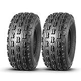 Set of 2 MaxAuto Sport ATV Tires 21X8-9 21x8x9 GNCC 21X8.00-9 Front ATV UTV Race Desert Tires,4 Ply Rating Tubeless