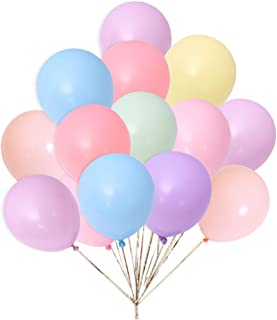 In-JOOYAA 5 Inch Small Balloons 200 Pack Macaron Assorted Colors Latex Party Balloons for Photo Shoot Wedding Baby Shower Birthday Party Decorations