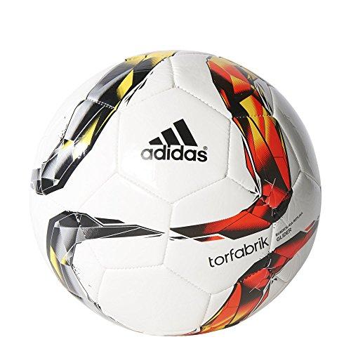 adidas Herren Ball Torfabrik Glider, White/Solar Red/Black/Solar Orange, 5