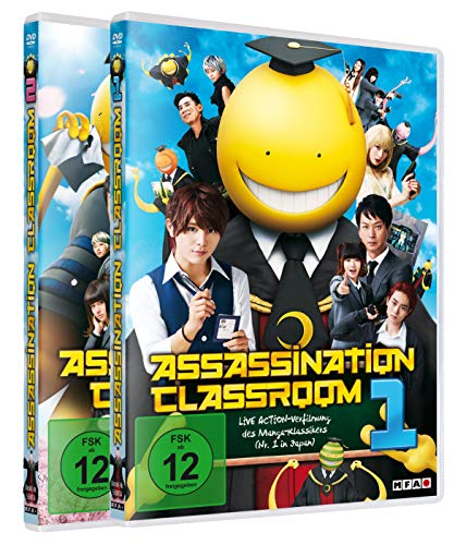 Assassination Classroom - Bundle - Film 1&2 - [DVD]