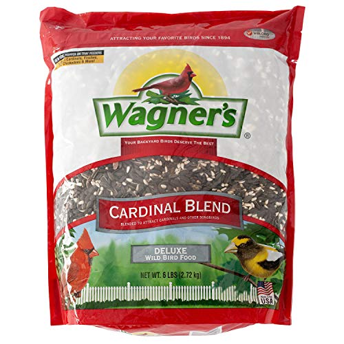 Wagner's 62032 Cardinal Blend Wild Bird Food, 6-Pound Bag