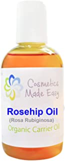 Cosmetics Made Easy Rosehip Seed Oil (Rosa Rugibinosa) -