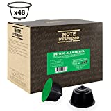 Note D'Espresso Cápsulas de Menta Poleo - 48 X 3G, Total: 144 g