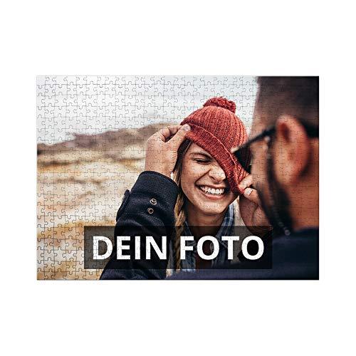 PhotoFancy® – Puzzle mit Foto Bedrucken Lassen – XL Fotopuzzle mit 551 Teilen und eigenem Foto Personalisieren