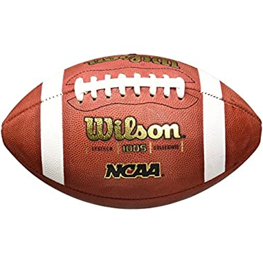 Wilson 1005 NCAA Leather Game Football