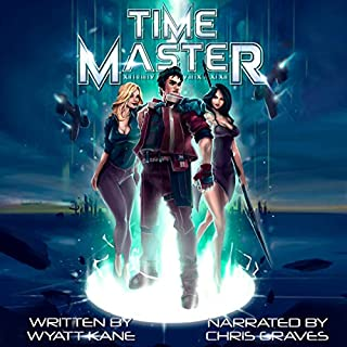 Time Master audiobook cover art