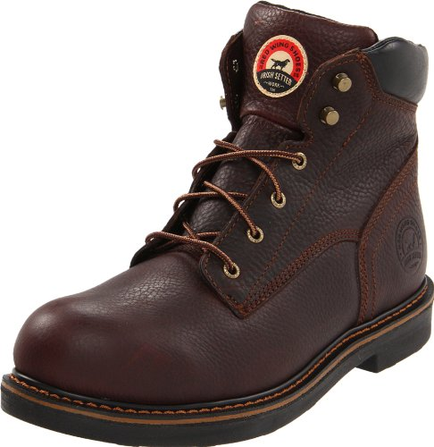 Irish Setter Men's 83603 6' Work Boot,Brown,10.5 D US