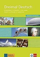 Dreimal Deutsch NEU: Arbeitsbuch & Audio-CD