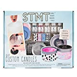STMT DIY Custom Candles by Horizon Group USA, Create 2 Fragrant Candles, Candle Tins, Recipe Card, Sticker...