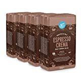 Marca Amazon - Happy Belly Café molido 'Espresso Crema' (4 x 250g)